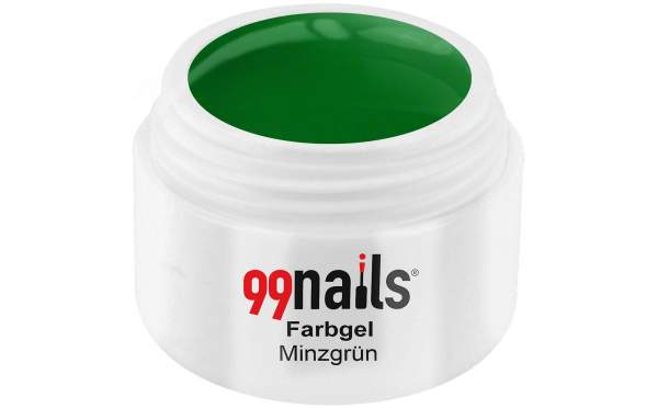 Colour Gel - Mint Green 5ml