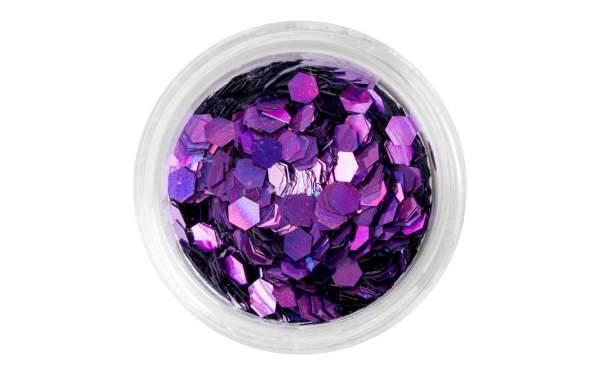 Nail Art Sequins Large Purple