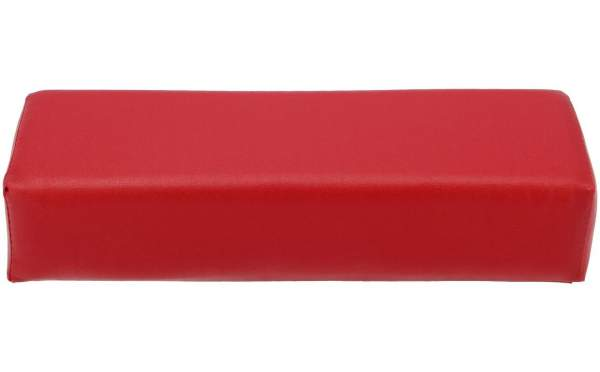 Faux Leather Hand Rest Red