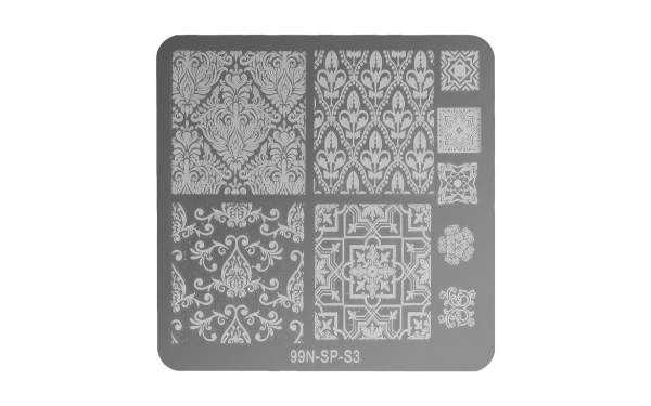 Square Stamping Plate - Connect