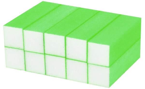 Buffer Block Neon Green 10 pcs
