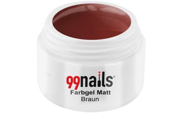 Colour Gel Matte - Brown 5ml