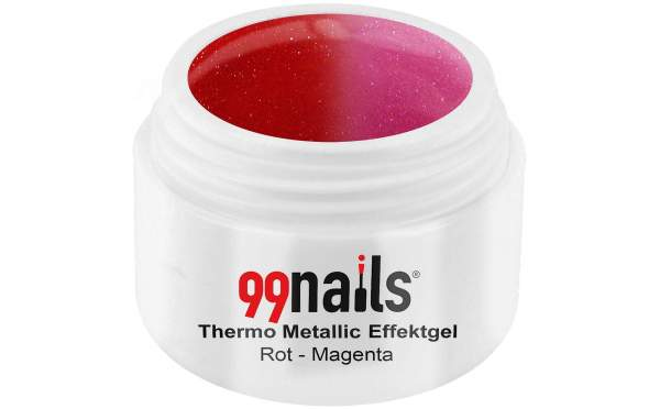 Thermo Metallic Gel - Red-Magenta 5ml