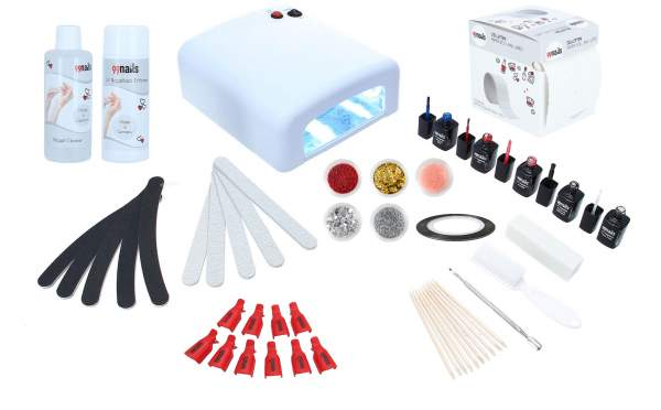 Gel Polish Starter Set UV - Basic