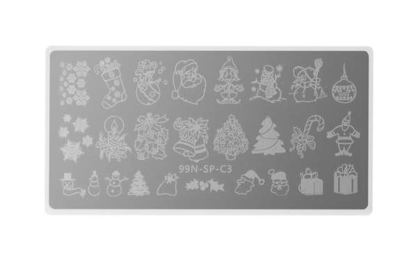 Special Stamping Plate - Mixed Christmas