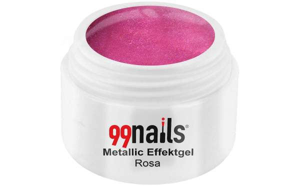 Metallic Gel - Pink 5ml