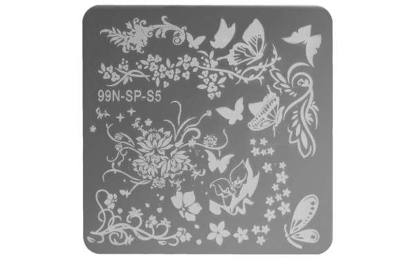 Square Stamping Plate - Paradise
