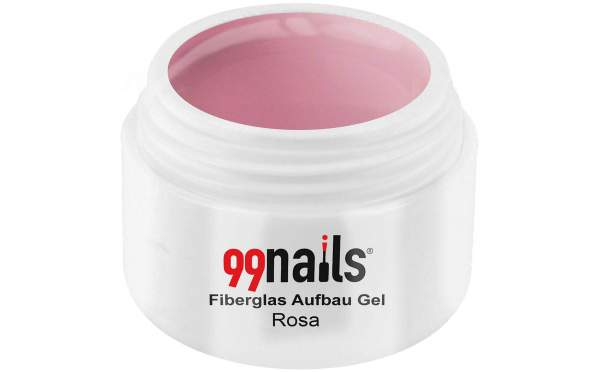 Fibreglass Builder Gel - Light Pink 30ml