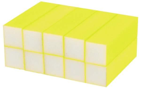 Buffer Block Neon Yellow 10 pcs