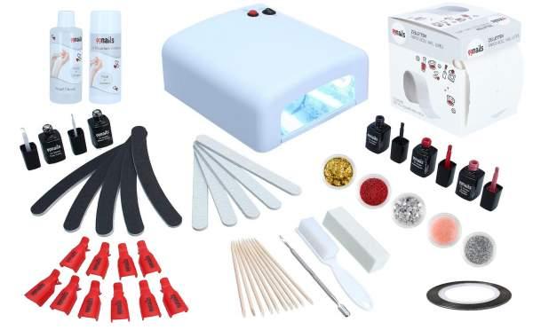 EasyLac Gel Polish Starter Set UV - Basic