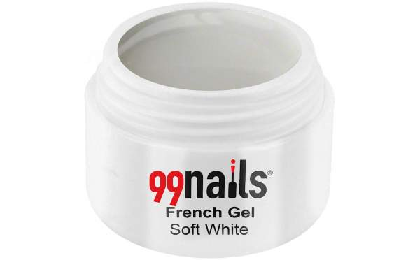 UV Gel French Manicure - Soft White 5ml