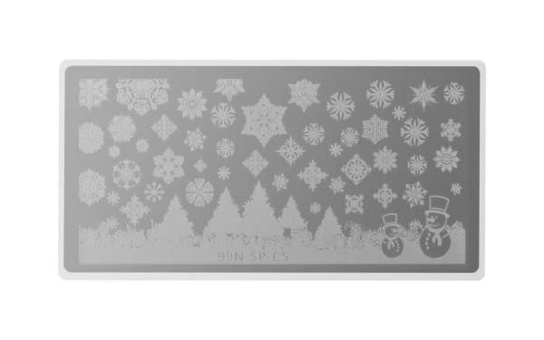 Special Stamping Plate - Christmas Snow