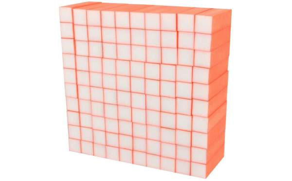 Buffer Block Neon Orange 100 pcs