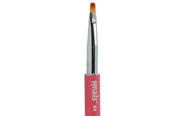 Gel Brush No. 4 With Rhinestones