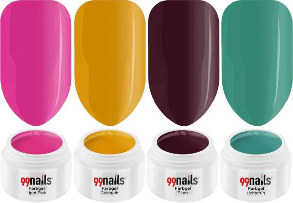 UV Colour Gel Set - Feel Free 5ml