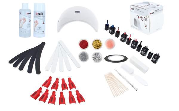 Gel Polish Starter Set LED - Basic
