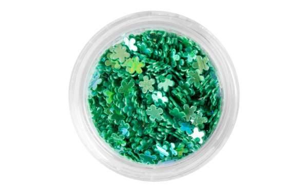 Nail Art Flower Sequins Green