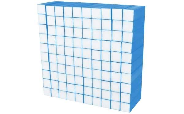 Buffer Block Neon Blue 100 pcs