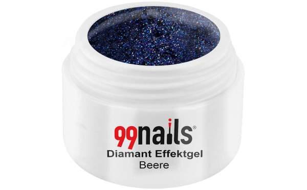 Diamond Effect Gel - Berry 5ml