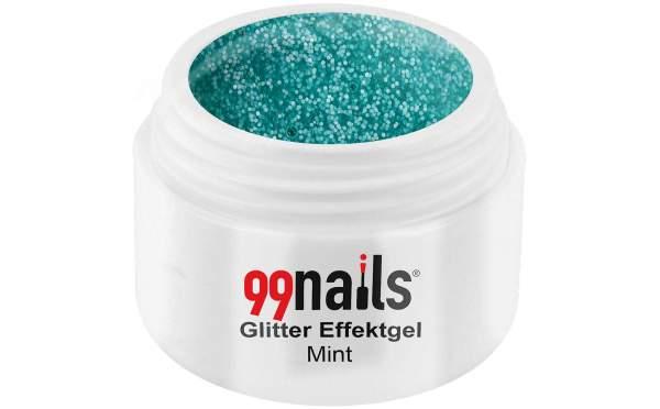 Glitter Gel - Mint 5ml